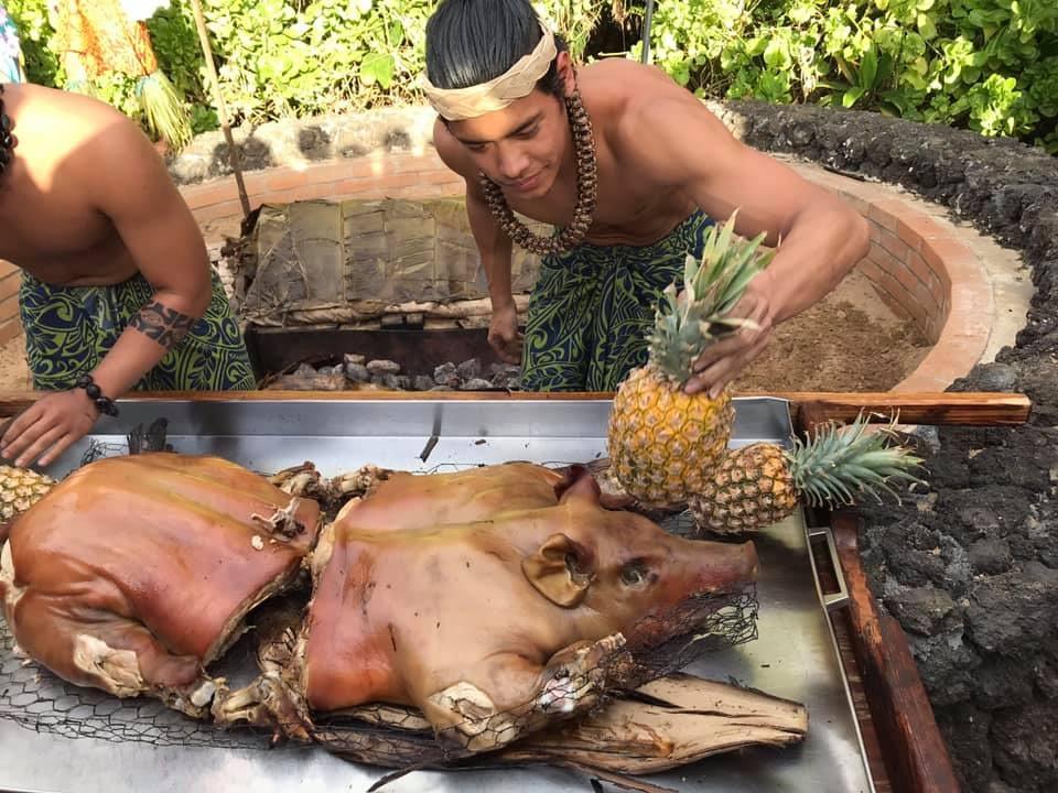 Luau du Marriots, Kihei à Hawaï